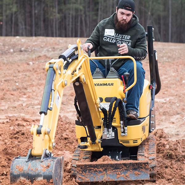 excavator sales training